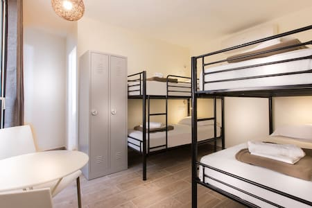 L) 1 BED in Mixed DORMITORY in PARIS CENTER - Paris - Schlafsaal