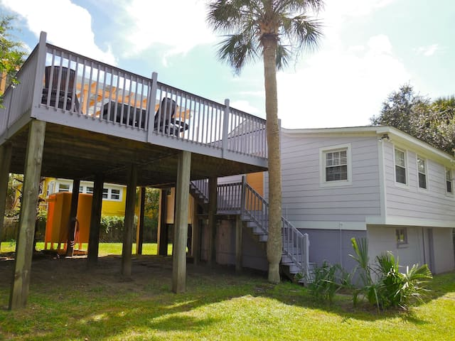 The Folly House - Cozy and Conveniently Located - Folly Beach - House