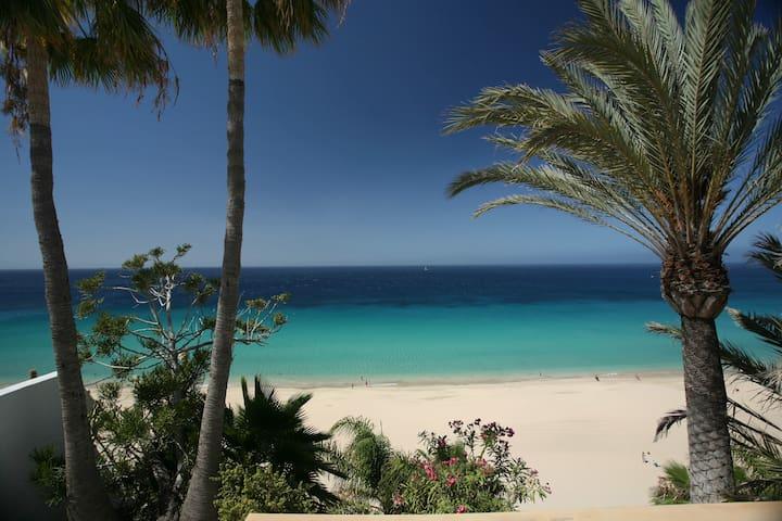 Bungalow Deluxe Primera Línea playa Fuerteventura - Morro Jable - Villa