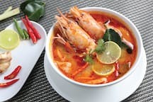spicy Thai dishes