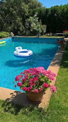 Pool available with prior agreement