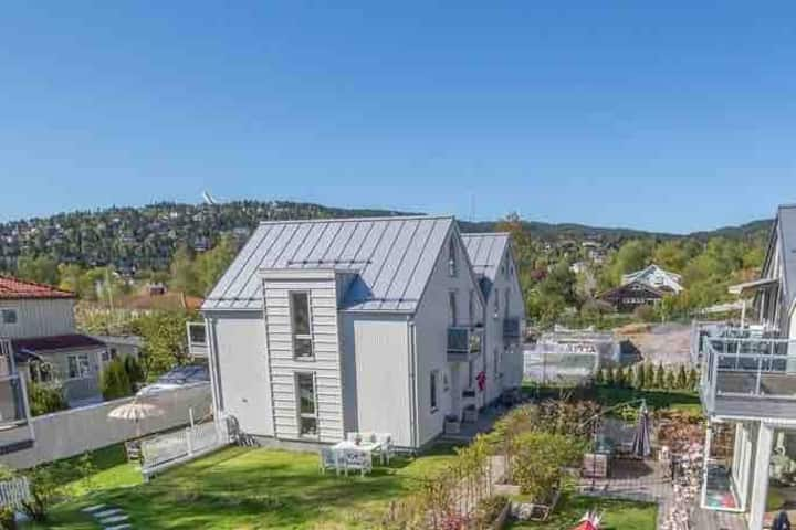 SLEMDAL: Fully equipped apartment, central & quiet