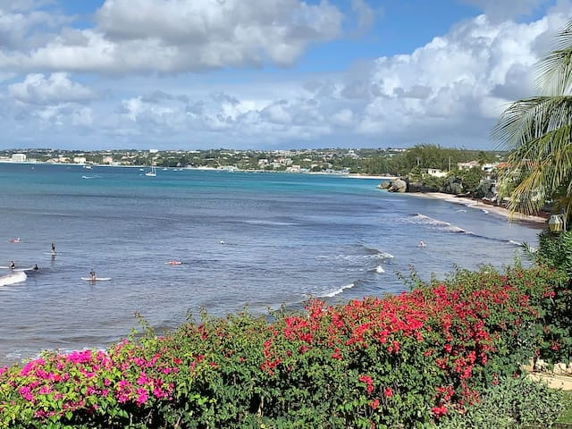 View from the patio of Oistins Bay... Priceless!!! BARBADOS