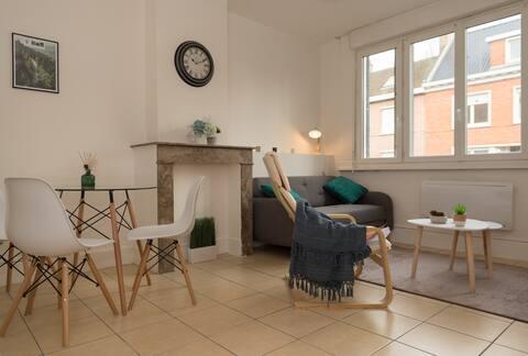 Appartement 45m² Terrasse et Jardin
