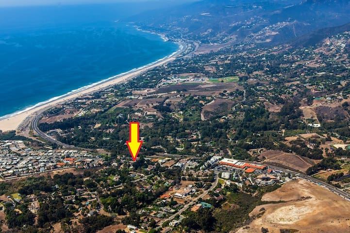 Malibu Point Dume Home