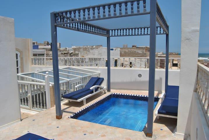 Piccolini Fadati riad vue mer médina Essaouira