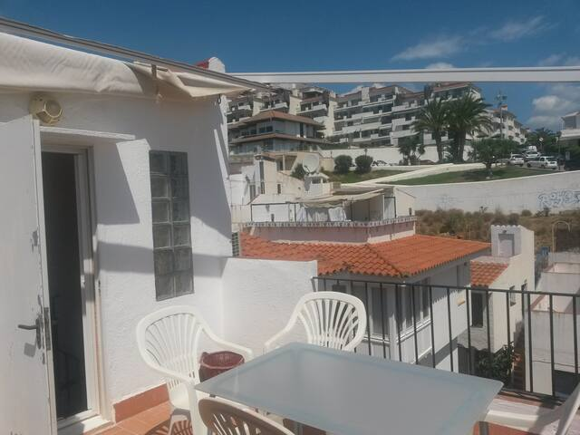 ABA-Duplex hermoso a 60 mts playa Balmins-Aire a. - Sitges - Appartement