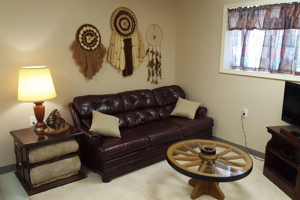 Seating area in Ranch Room