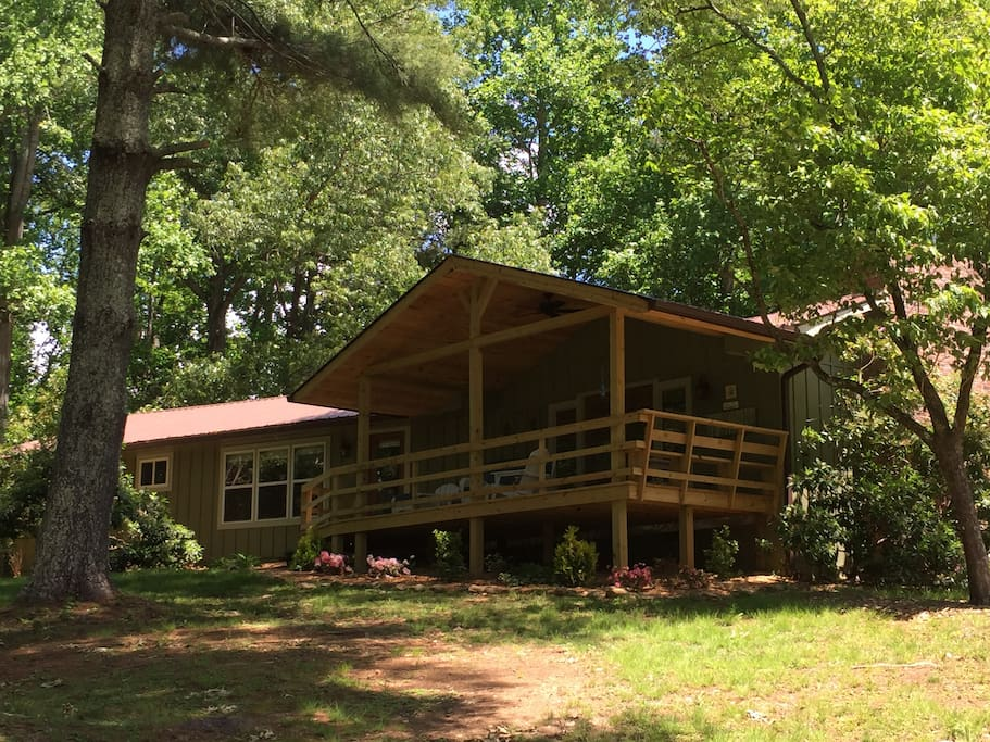 Mountain house rental at the lake maisons louer - Maison mountain range irving smith jack ...