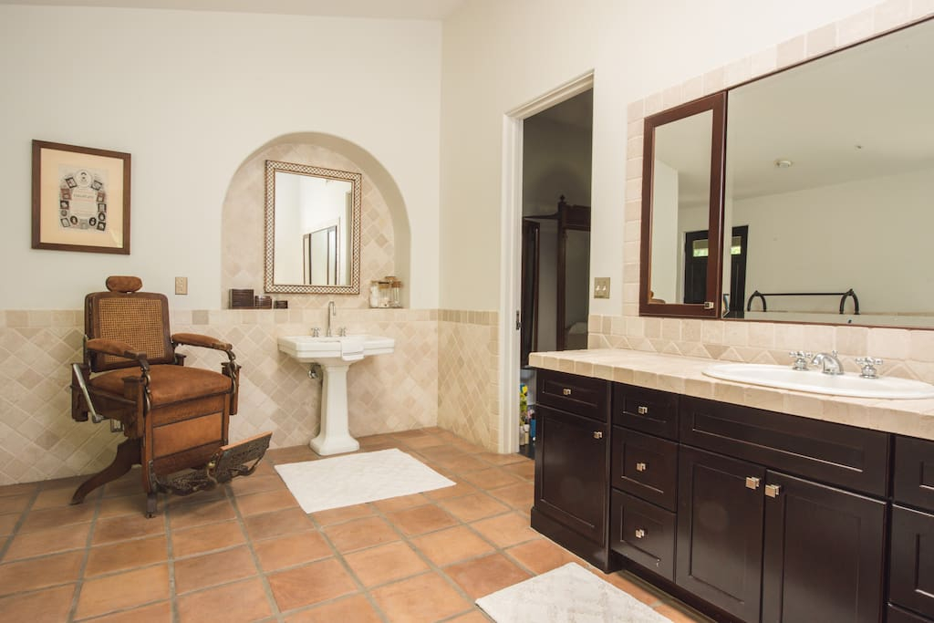 Master Bath, His and Hers Vanities