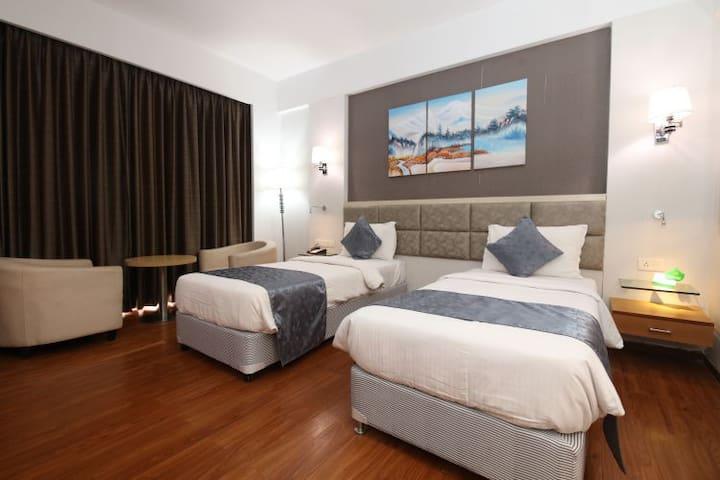 Comfortable, premium stay in Bodh Gaya