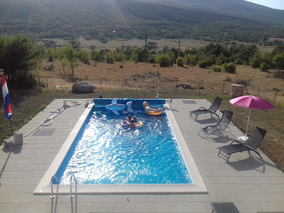 piscine 8mx4m