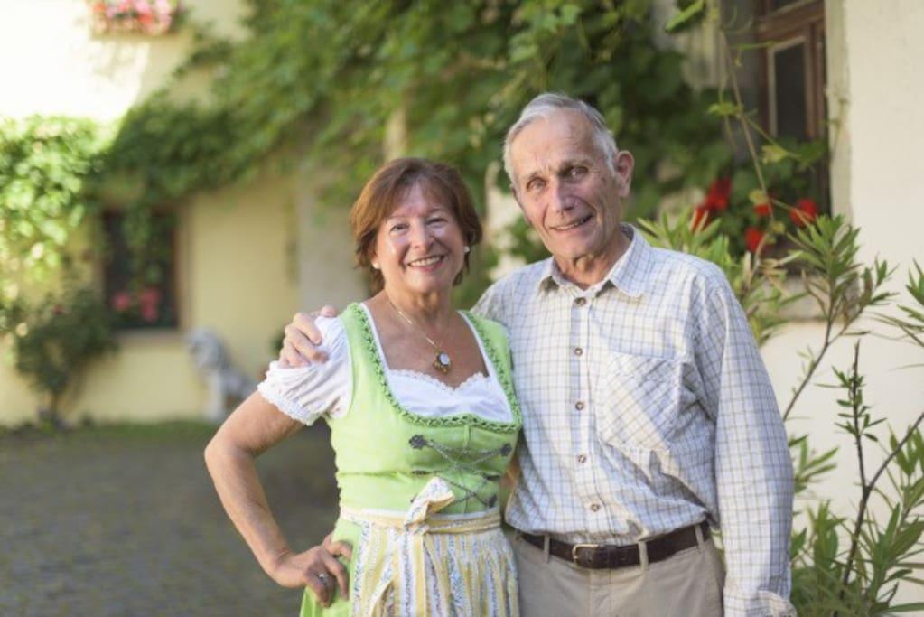 Die Gastgeber Luisa und Hans-Peter Koehler