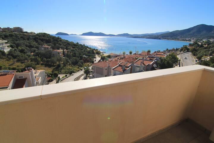 2nd floor Sea View from balcony, Feel the Sea Villa