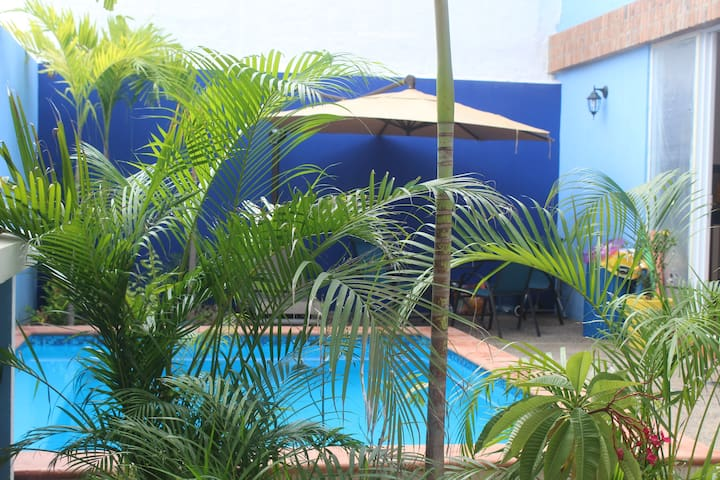 Casa Mackenzie. Two bedroom apartment with pool.