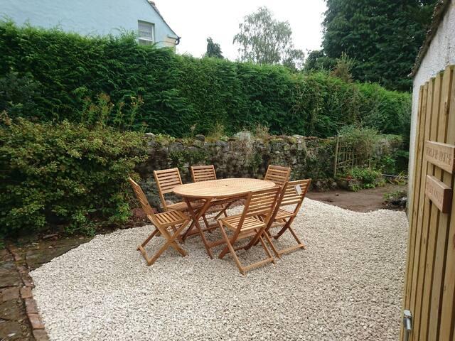 Seating Area & Garden