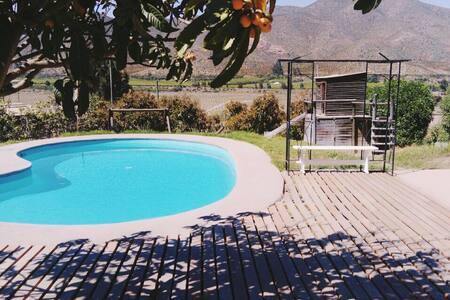 Casa con piscina, Valle del Elqui