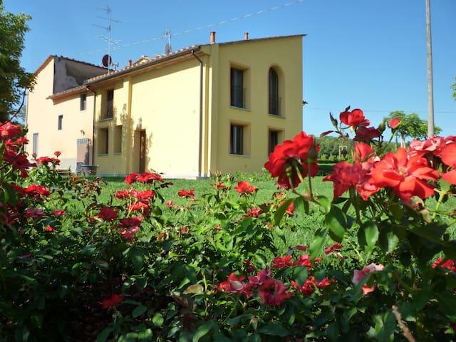 Saluto al sole - home San Baronto - Serravalle Pistoiese - Leilighet