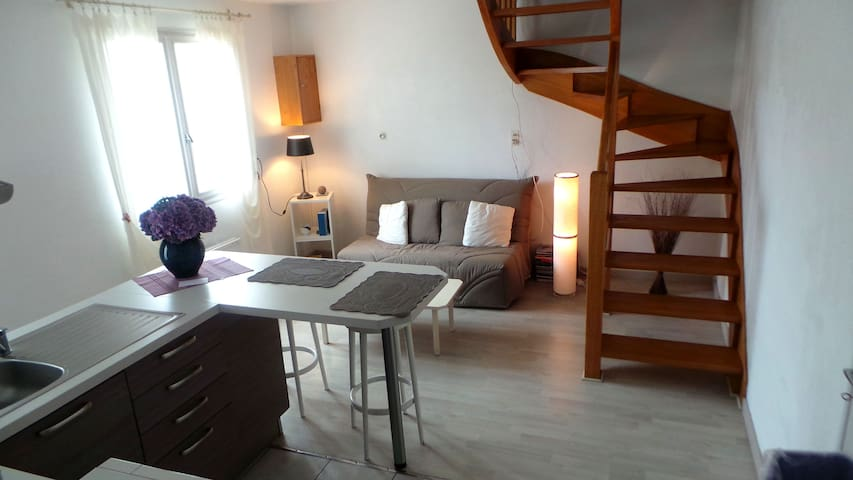T2  50m² en duplex - Plonéour-Lanvern - Wohnung
