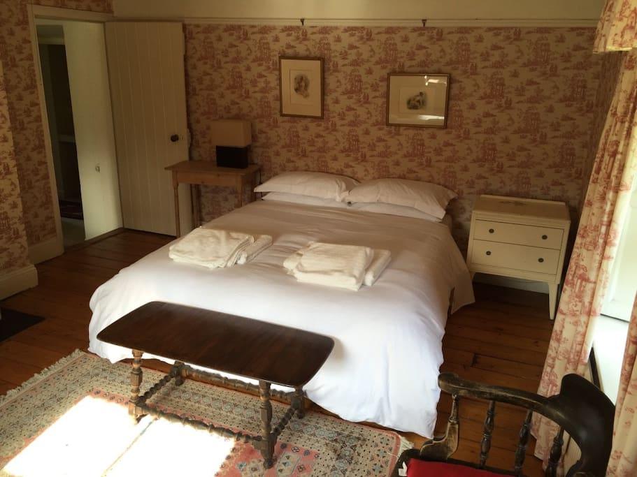The Pink Room Bedroom