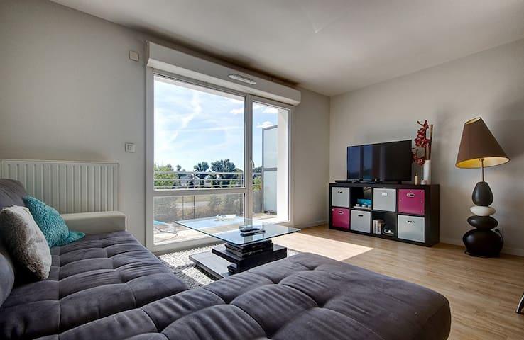 Bel appartement paisible et spacieux à quelques minutes de Vannes