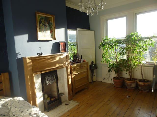 Large quiet bedroom