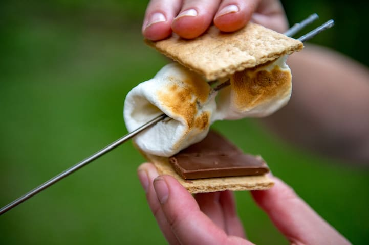 Your s'mores called. They want you to come camping!