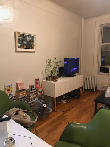 Prospect Park Walk-Up Studio Apartment