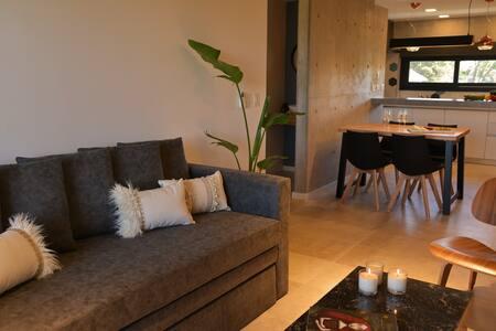 Apartamento boutique de dos ambientes