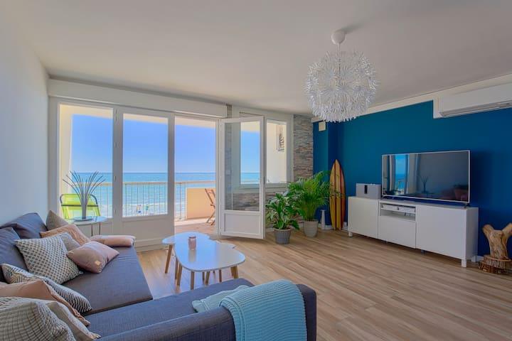 magnifique appartement face à la mer