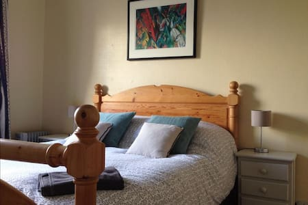 Specious double room: Colthop Manor - West Berkshire - Inap sarapan