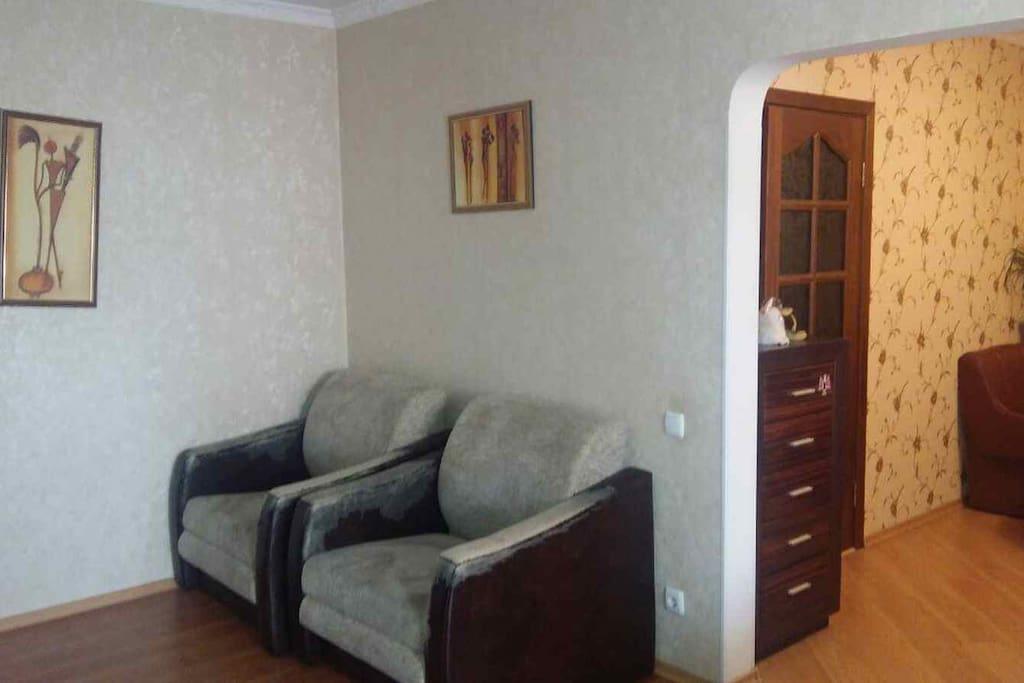 2 раскладных кресла-кровати