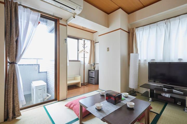 Bright room 明るい和室