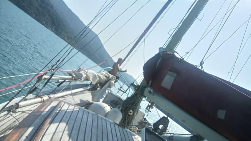 Sea Life Dream 24H sailing yacht,paraty,ilha grde - Angra dos Reis - Barca