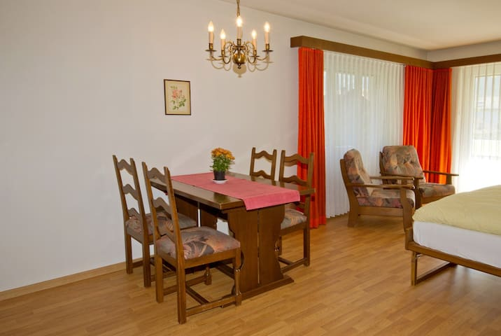Casa Viva, (Bad Ragaz), 1 1/2 room apartment no. 8
