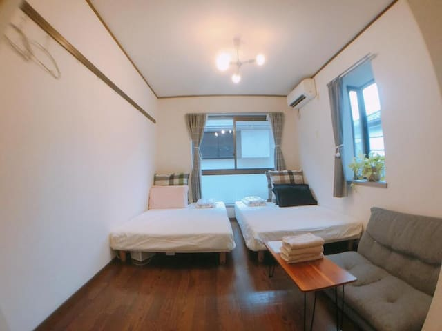 On Sale!  Cozy Room central Shinjuku Room 207