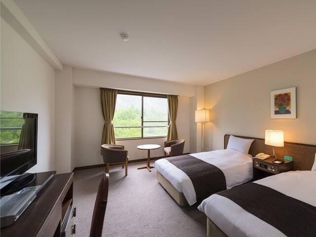 Kamikochi Lemeiesta Hotel  - Twin Room(Breakfast ○ / Dinner ○)