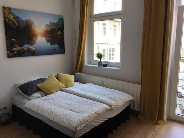 Helles 1 Zimmer Apartment Dresden Friedrichstadt