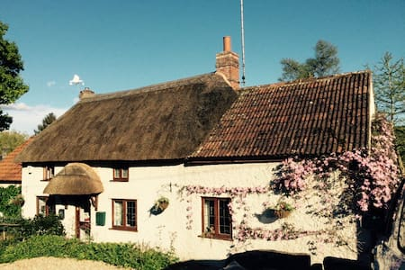 Private Room in Idyllic Country Cottage - Tatworth - Aamiaismajoitus