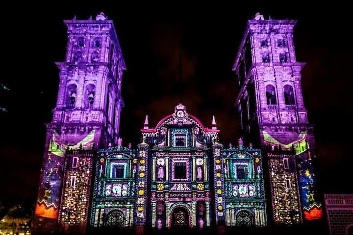 Centro de Puebla. Habitación B
