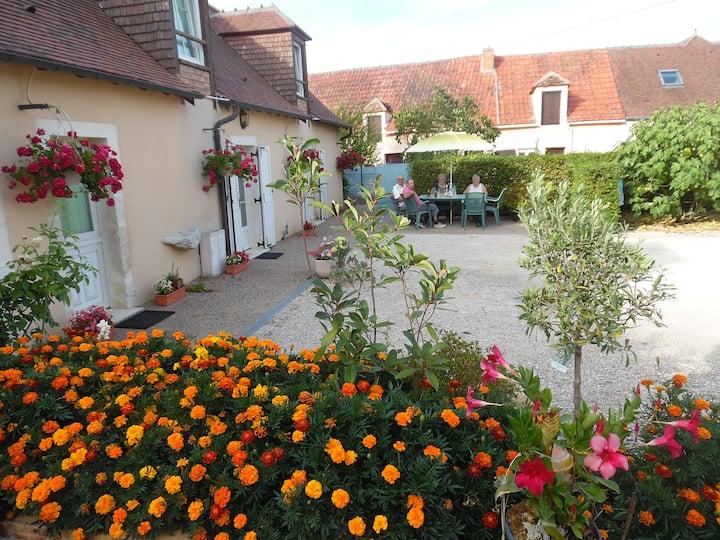 Gîte rural Le Poireuil à Venesmes