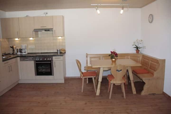 Paradieshof, (Schonach), Ferienwohnung Sonnenblick, 54qm, 1 Schlafzimmer, max. 3 Personen