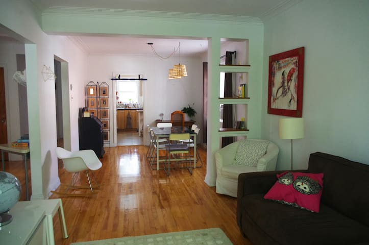 Bright spacious room - Montreal - Lejlighed