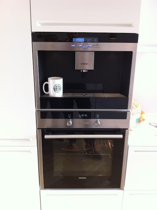 Fully automatic espresso mashine