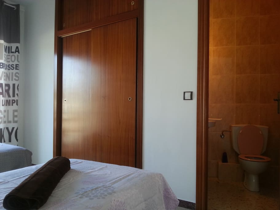 Double bedroom with its own toilet