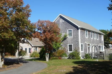 Beautiful Edgartown Colonial with car