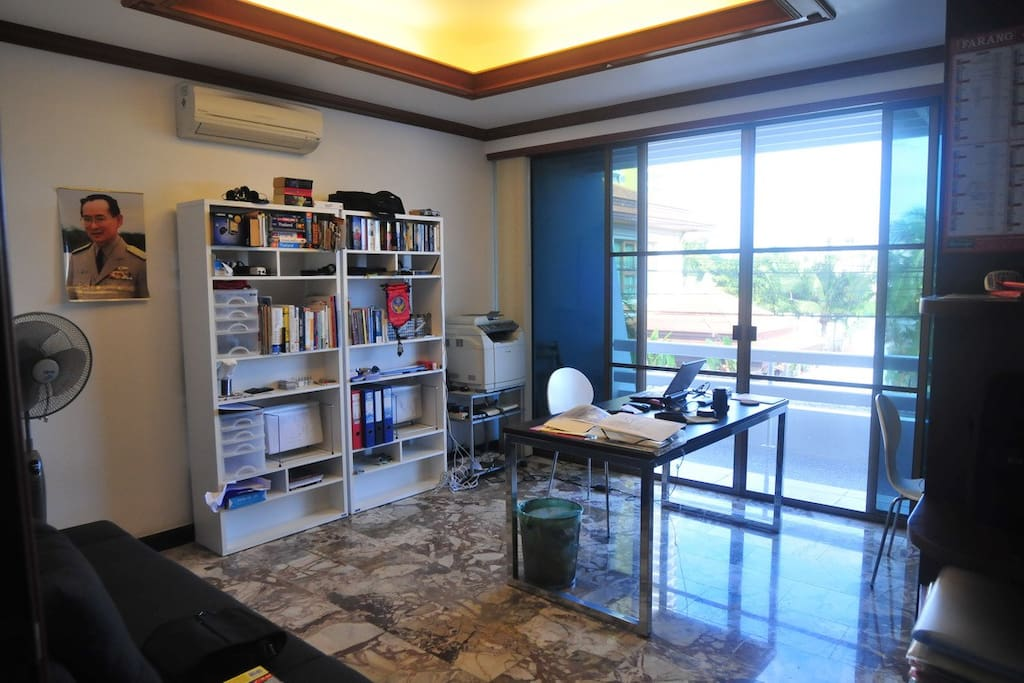2nd floor private office with terrace.
