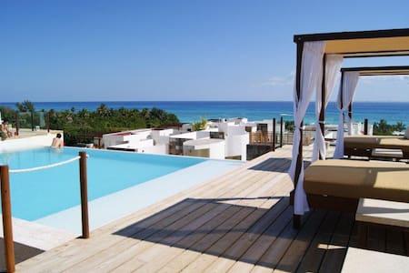 Ocean View Condo/Roof Pool/WiFi/Gym - Playa del Carmen - Condominium