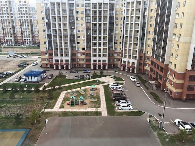 Вид из окна квартиры