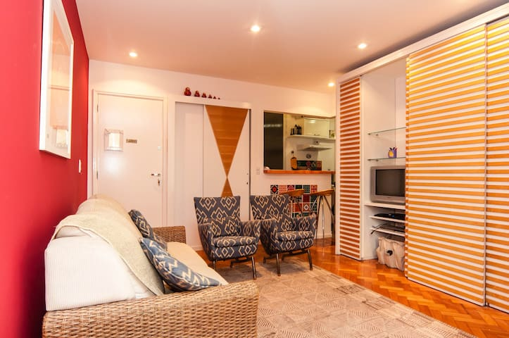 Cosy flat close to Ipanema beach